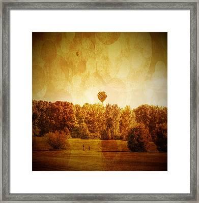 Balloon Nostalgia Framed Print by Michael Garyet