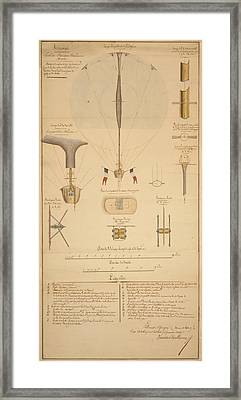 Balloon Patent Framed Print