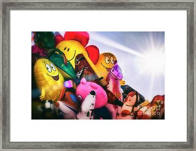 Balloons Framed Print by Alessandro Giorgi Art Photography