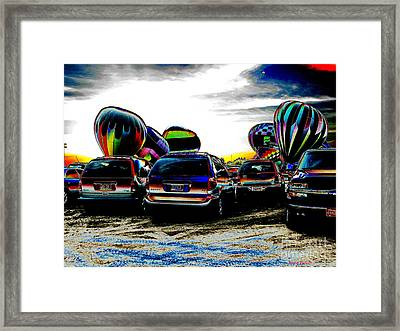Balloons Framed Print by Greg Patzer