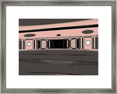 Ballroom Framed Print