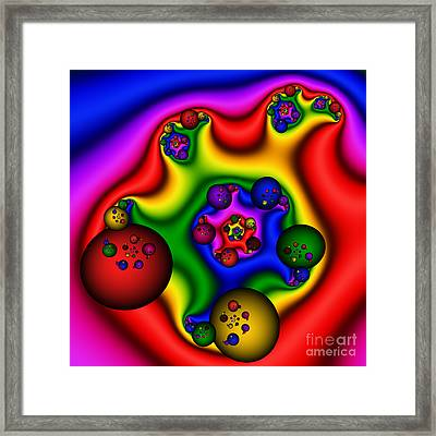 Balls In My Ear 206 Framed Print by Rolf Bertram