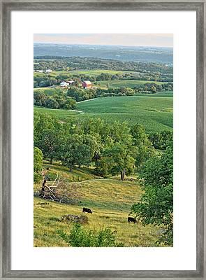 Balltown Farm 2 Framed Print