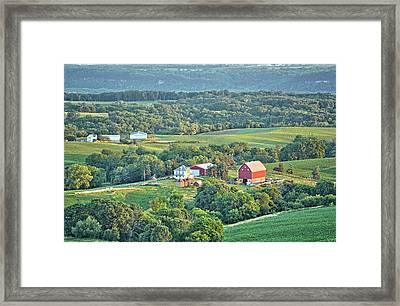 Balltown Farm Framed Print