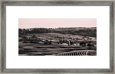 Balltown, Iowa Framed Print