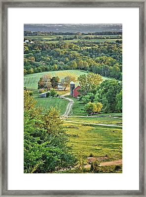 Balltown Valley Farm 2 Framed Print