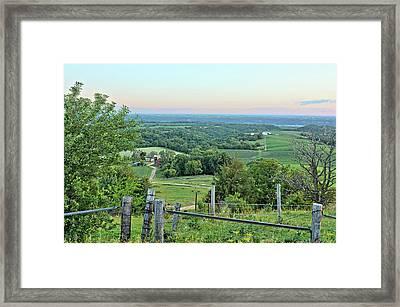 Balltown Valley Farm 3 Framed Print