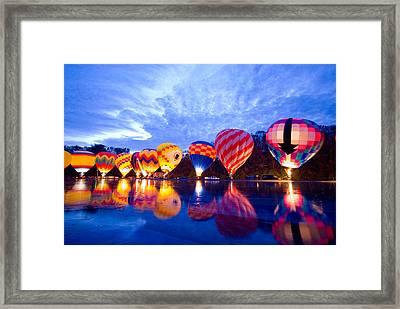 Balluminaria Glow Framed Print