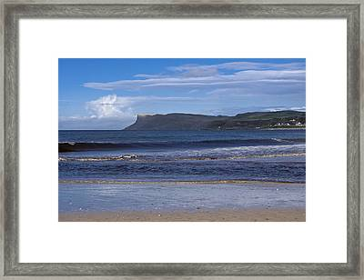 Ballycastle Beach Framed Print by Trevor Buchanan