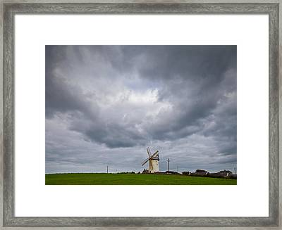Ballycopeland Windmill, Built Circa Framed Print by Panoramic Images