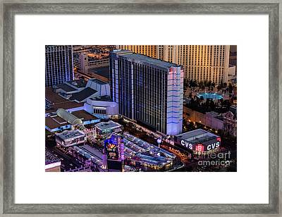 Bally's Hotel, Las Vegas Framed Print by Sv
