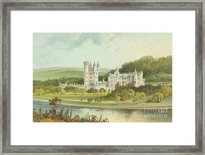 Balmoral Castle, Scotland Framed Print