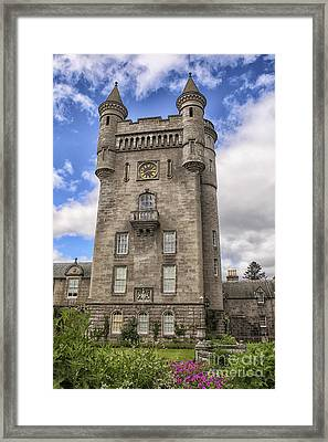 Balmoral Castle Tower Framed Print by Patricia Hofmeester