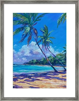 Balmy Breezes Framed Print