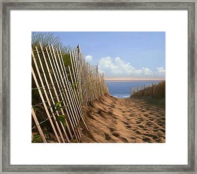 Balston Sunrise Framed Print