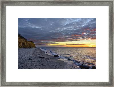 Baltic Beach Framed Print
