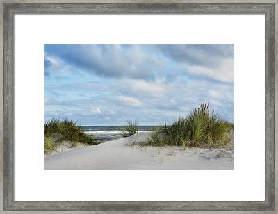 Baltic Sea Framed Print by Joachim G Pinkawa