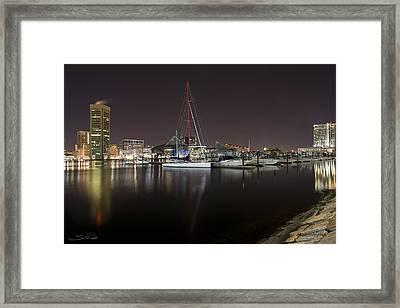 Baltimore Boat Yard Framed Print