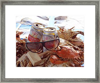 Baltimore Chic Framed Print by Kevin Callahan