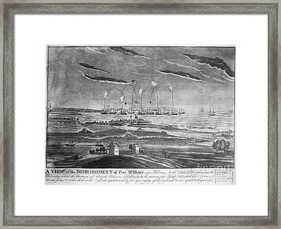 Baltimore: Fort Mchenry Framed Print