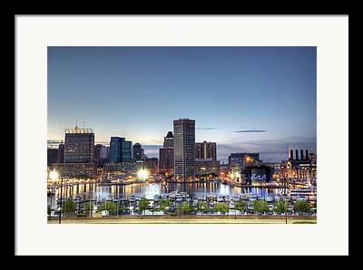 Baltimore Photographs Framed Prints