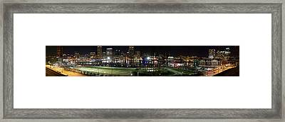 Baltimore Nights Framed Print by Brent L Ander
