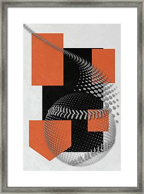 Baltimore Orioles Art Framed Print by Joe Hamilton