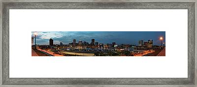 Baltimore Super Wide Panorama Framed Print
