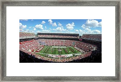 Bama Spell-out Panorama Framed Print