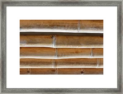 Bamboo 3 Framed Print by Heike Hultsch