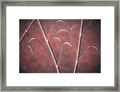 Bamboo Garden Framed Print