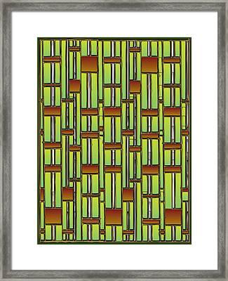 Bamboo Overdose  Framed Print by Marta Podkul