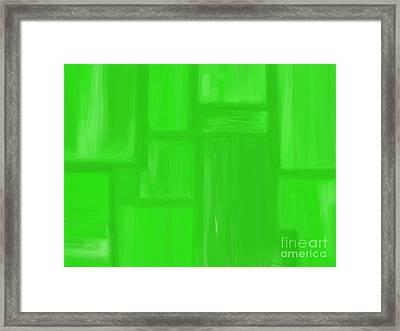 Bamboo Framed Print by Roxy Riou
