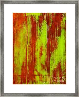Bamboo Spy  1 Framed Print by Teo Santa