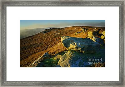 Bamford Edge Path Framed Print