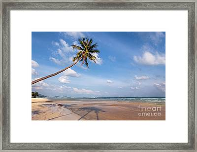 Ban Harn Beach Framed Print