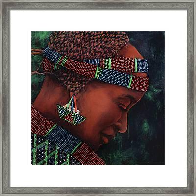 Bana Framed Print