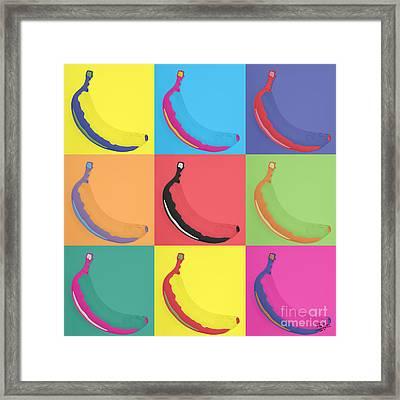 Banana 29 Framed Print by Flo Ryan