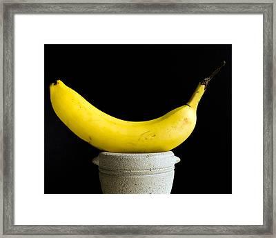 Banana Framed Print by Allan  Hughes