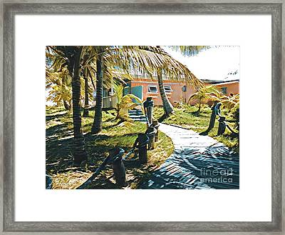 Banana Bay Framed Print