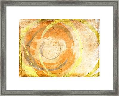 Banana Cake Framed Print