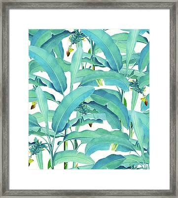 Banana Forest Framed Print