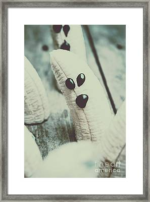 Banana Halloween Ghosts Framed Print by Jorgo Photography - Wall Art Gallery