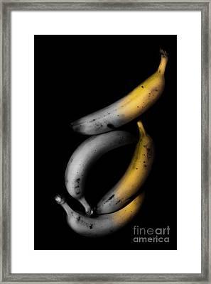 Banana Split Framed Print