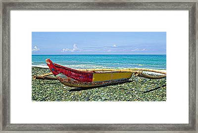 Banca Boat 3 Framed Print