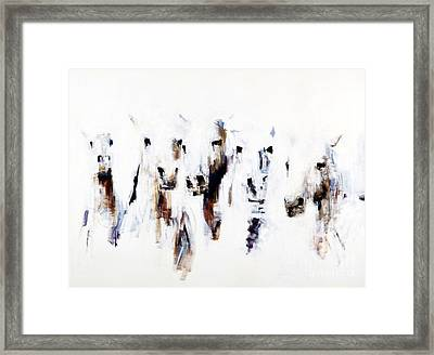 Band On The Run Framed Print by Frances Marino