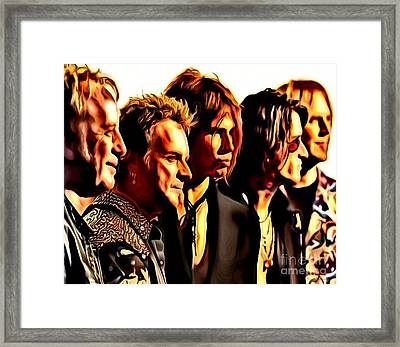 Band Who Framed Print