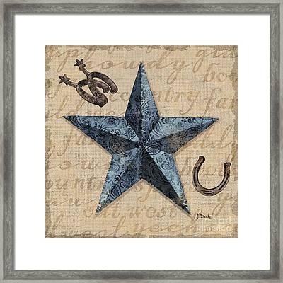 Bandana Barn Star II Framed Print
