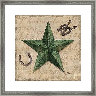 Bandana Barn Star IIi Framed Print