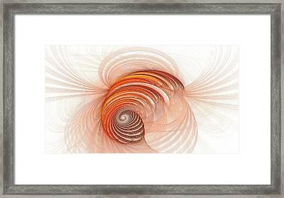 Banded Spirals Framed Print by Doug Morgan